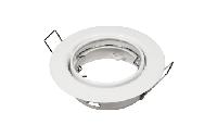 Einbaurahmen McShine ''ER-87'' weiß, Ø87mm, schwenkbar