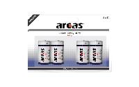 Baby-Batterie Super Heavy Duty 1,5V, Typ C/R14, 4er-Pack