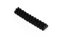 Lüsterklemme McPower, 12 Klemmen, 2,5mm², 3A, schwarz