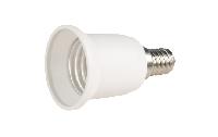 Lampensockel-Adapter McShine, E14 auf E27