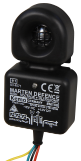 Marderstopp KEMO ''Twin-Protect'', LED-Kontrolle, Ultraschall und Hochspannung