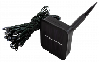 LED Solar-Lichterkette McShine ''LSL-50'' 5m, 50 LEDs, warmweiß, IP44