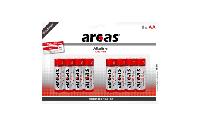 Mignon-Batterie Alkaline 1,5V, Typ AA/LR6, 8er-Pack