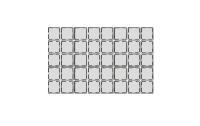 Wechselschalter McPower ''Cup'' 250V~/10A, UP, weiß, 40er-Pack