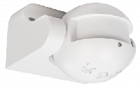 HF / Mikrowellen-Bewegungsmelder McShine ''LX-752'', 180°, 230V / 1.200W, weiß, LED geeignet