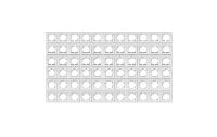 Rahmen McPower ''Flair'', 1-fach, weiß, 66er-Pack