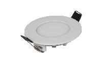 LED-Panel McShine ''LP-385RW'', 3W, 85mm-Ø, 306 lm, 3000K, warmweiß