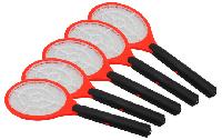 Elektrische Fliegenklatsche McPower, 2x Mignon (AA), 46x17cm, rot, 5er-Pack