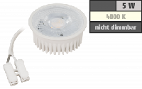 LED-Modul McShine ''MCOB'' 5W, 400 Lumen, 230V, 50x25mm, neutralweiß, 4000K
