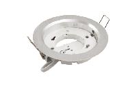 Einbaurahmen McShine ''DL-304'' rund, Ø108mm, GX53, Eisen gebürstet