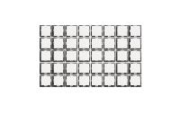 Wechselschalter McPower ''Flair'', 250V~/10A, UP, weiß, 40er-Pack
