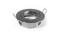Einbaurahmen McShine ''DL-828c'' rund, Ø82mm, schwenkbar, Bajonett Verschluss