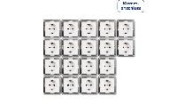 Schutzkontakt-Steckdose McPower ''Flair'' 250V~/16A, UP, Klemmanschluss, 18er-Pack