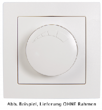LED-Dimmer für elektronische Trafos McPower ''Flair'' 250V~/300W, UP, Memory-Funktion